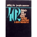402 things you must know before starting a new business, Philip J. Fox/Joseph R. Mancuso